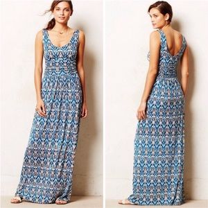 Anthropologie Vanessa Virgina Maxi Dress Pockets